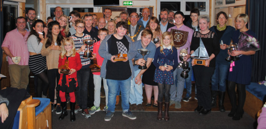 Club celebrates the highlights of 2015 sailing season at the Annual Prize Giving Ceremony