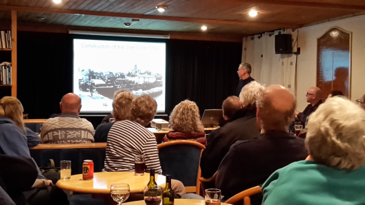 Penzance harbour; past, present and future – a talk by Terry Marks