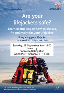 Lifejacket Clinic Poster